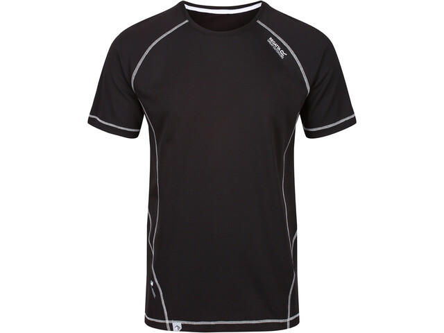 Regatta Virda II Camiseta Hombre, negro
